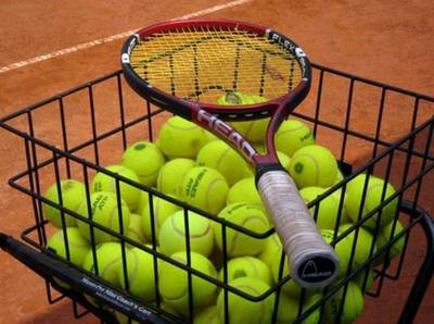tennisballen-training
